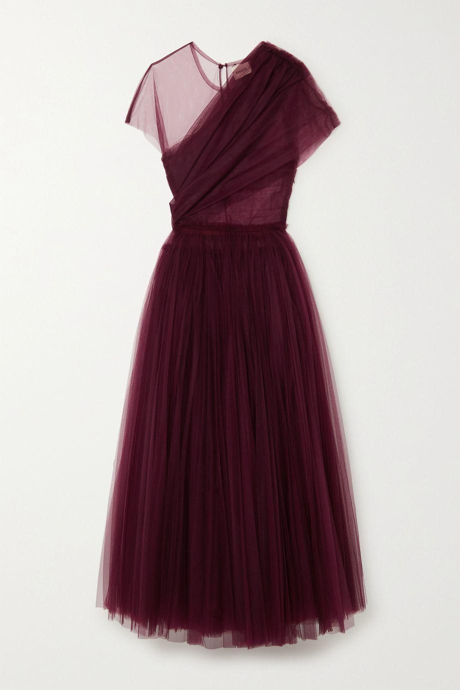 Khaite Gigi draped tulle gown