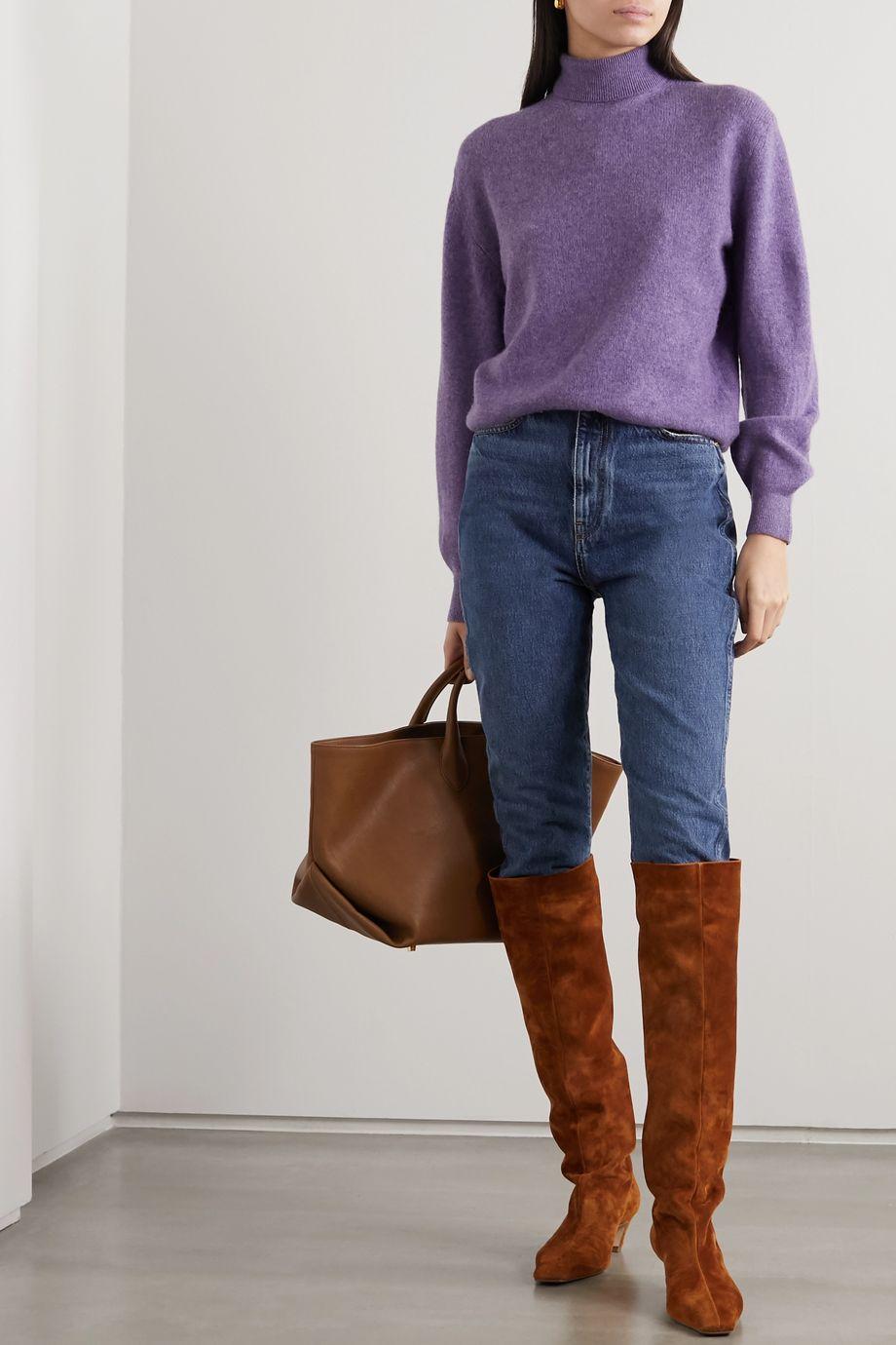 Khaite Julie cashmere-blend turtleneck sweater