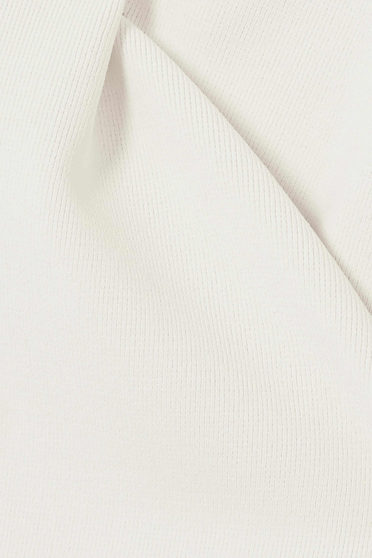 Khaite Kerry ribbed-knit bodysuit