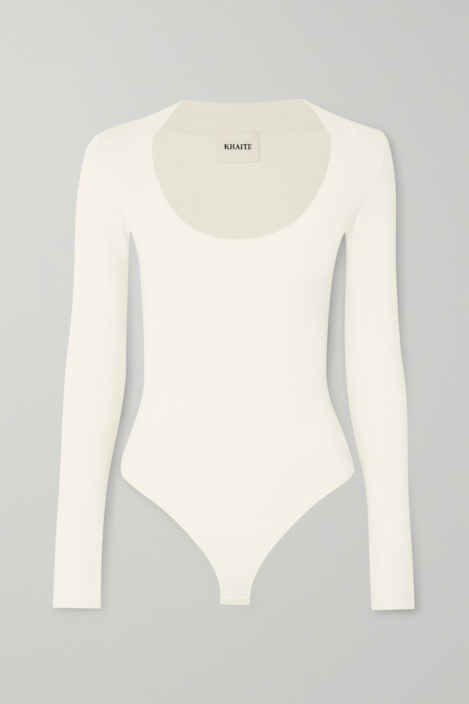 Khaite Kerry ribbed-knit bodysuit