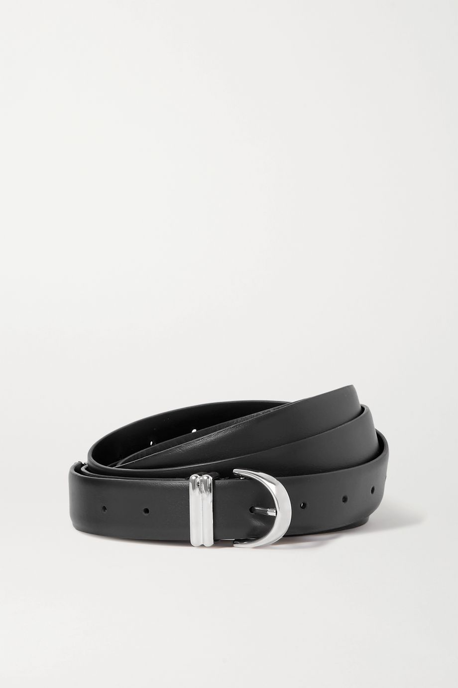 Khaite Brooke leather belt
