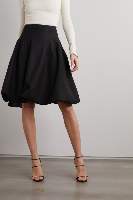 Tanya poplin skirt