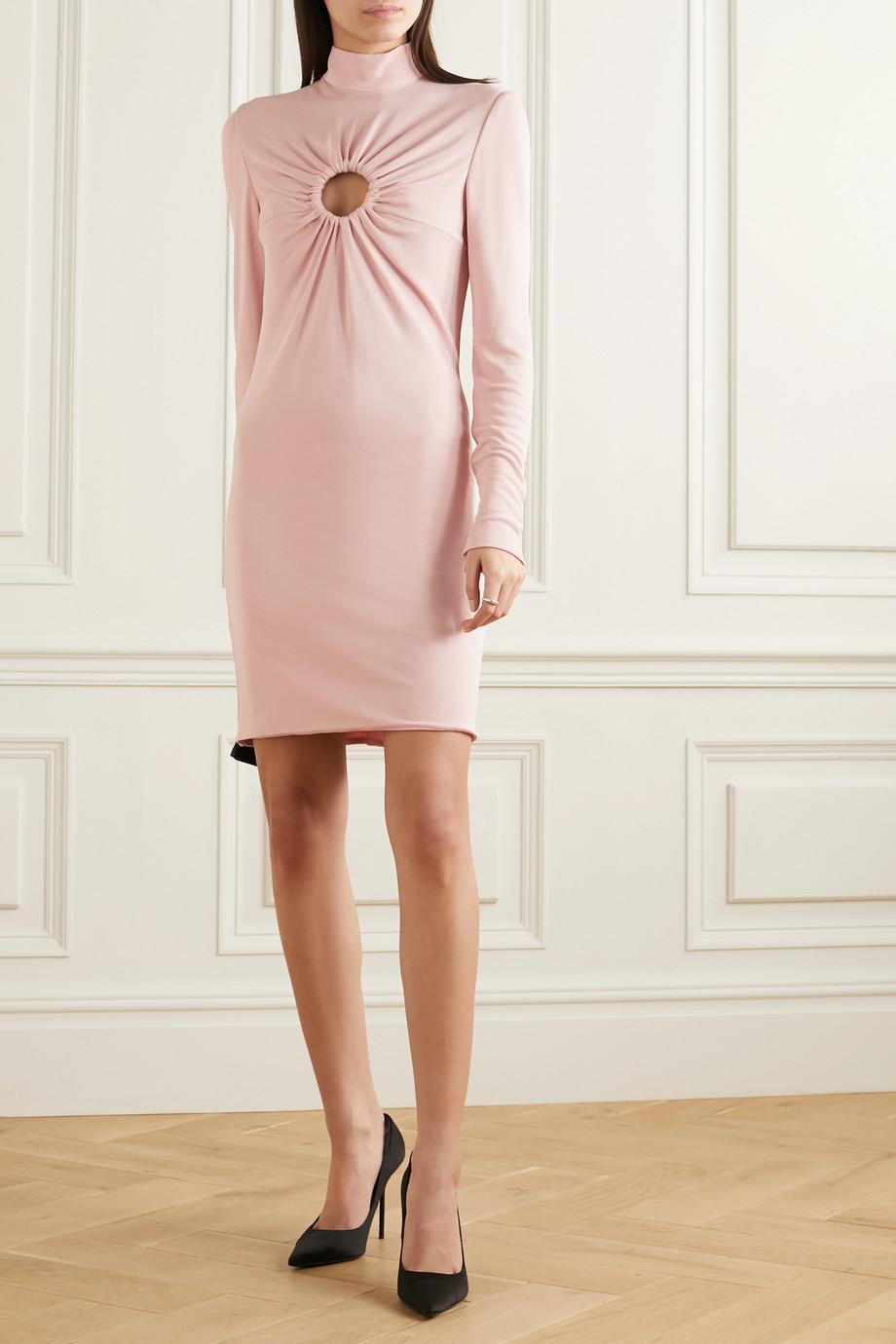 TOM FORD Cutout stretch-crepe mini dress