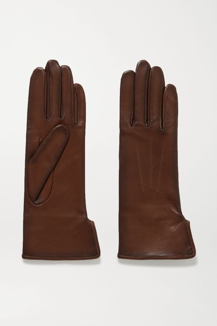 Agnelle Fanny leather gloves