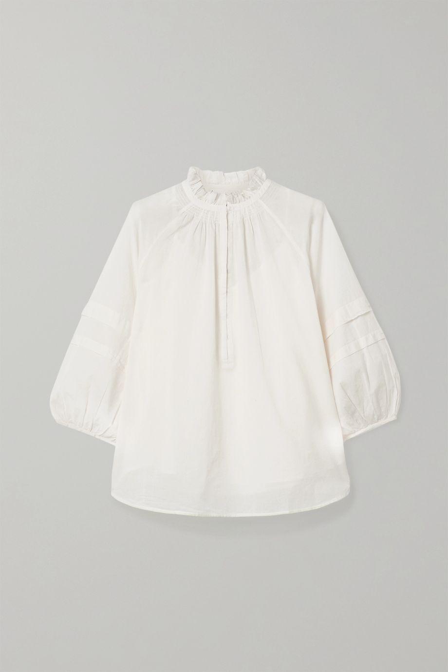 APIECE APART Laguna organic cotton blouse