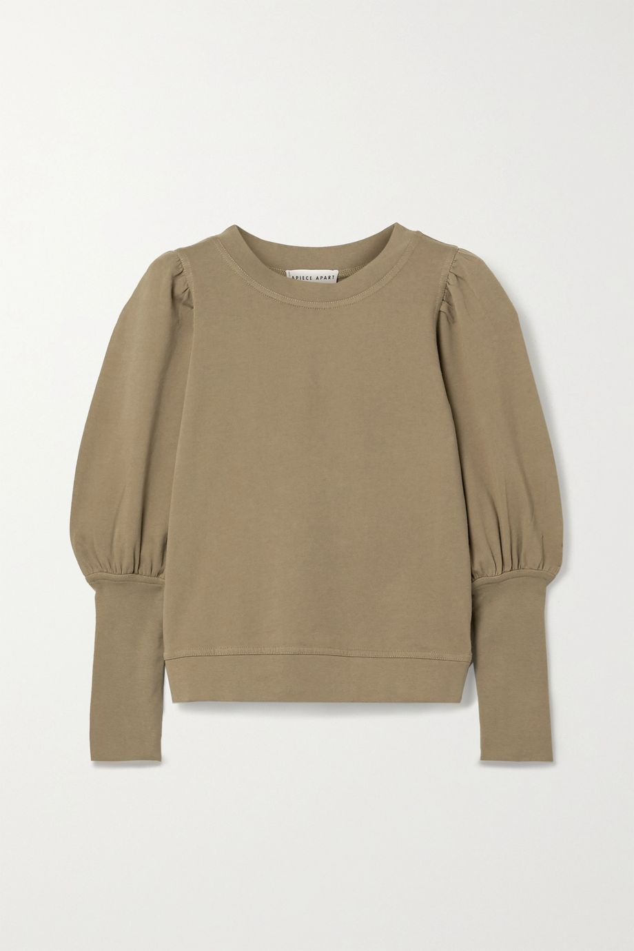 APIECE APART Olimpio cotton-jersey sweatshirt