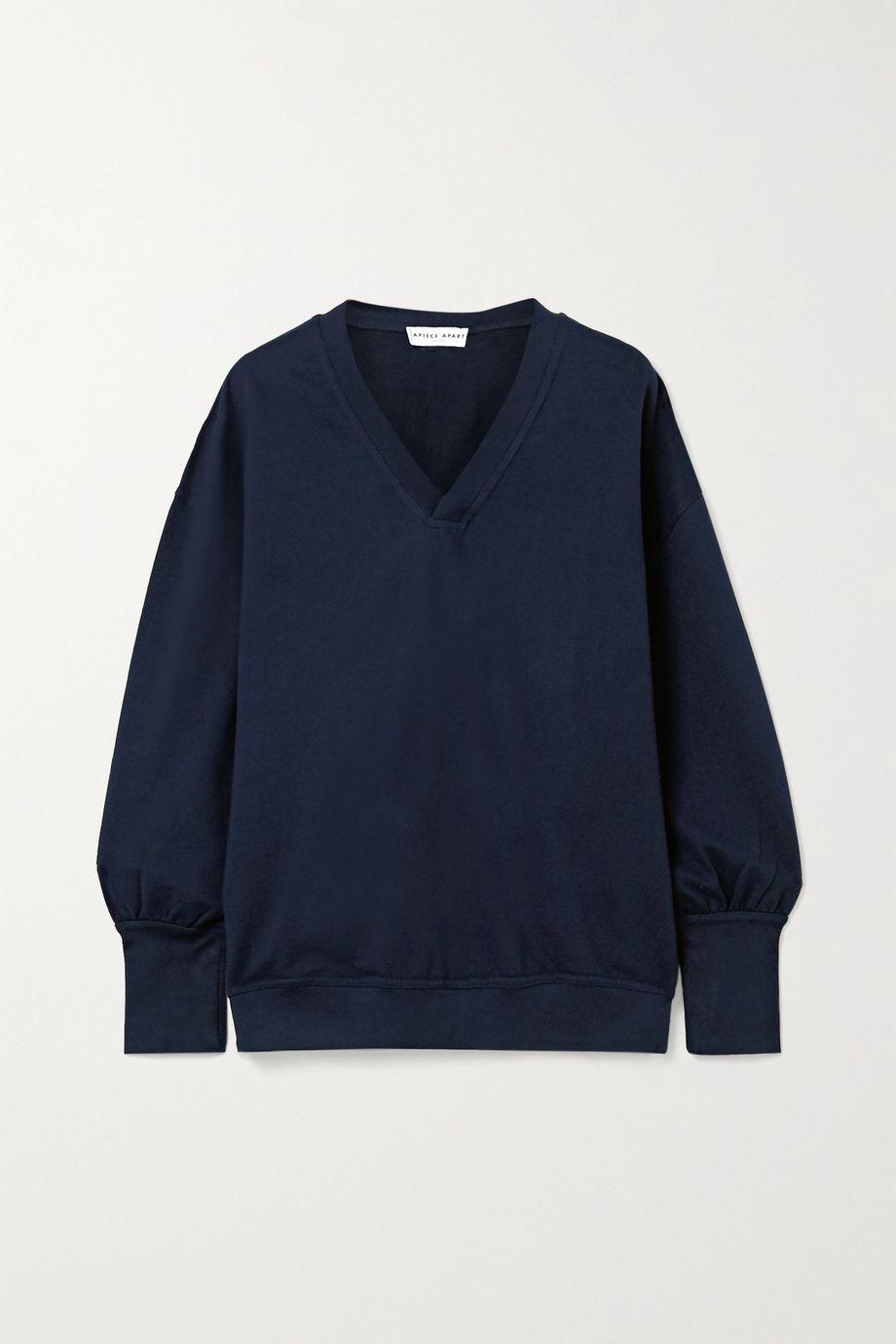 APIECE APART Napoli cotton-jersey sweatshirt