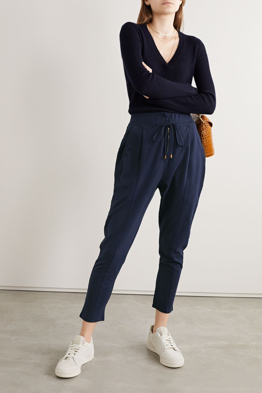 APIECE APART Josephine cotton-jersey track pants