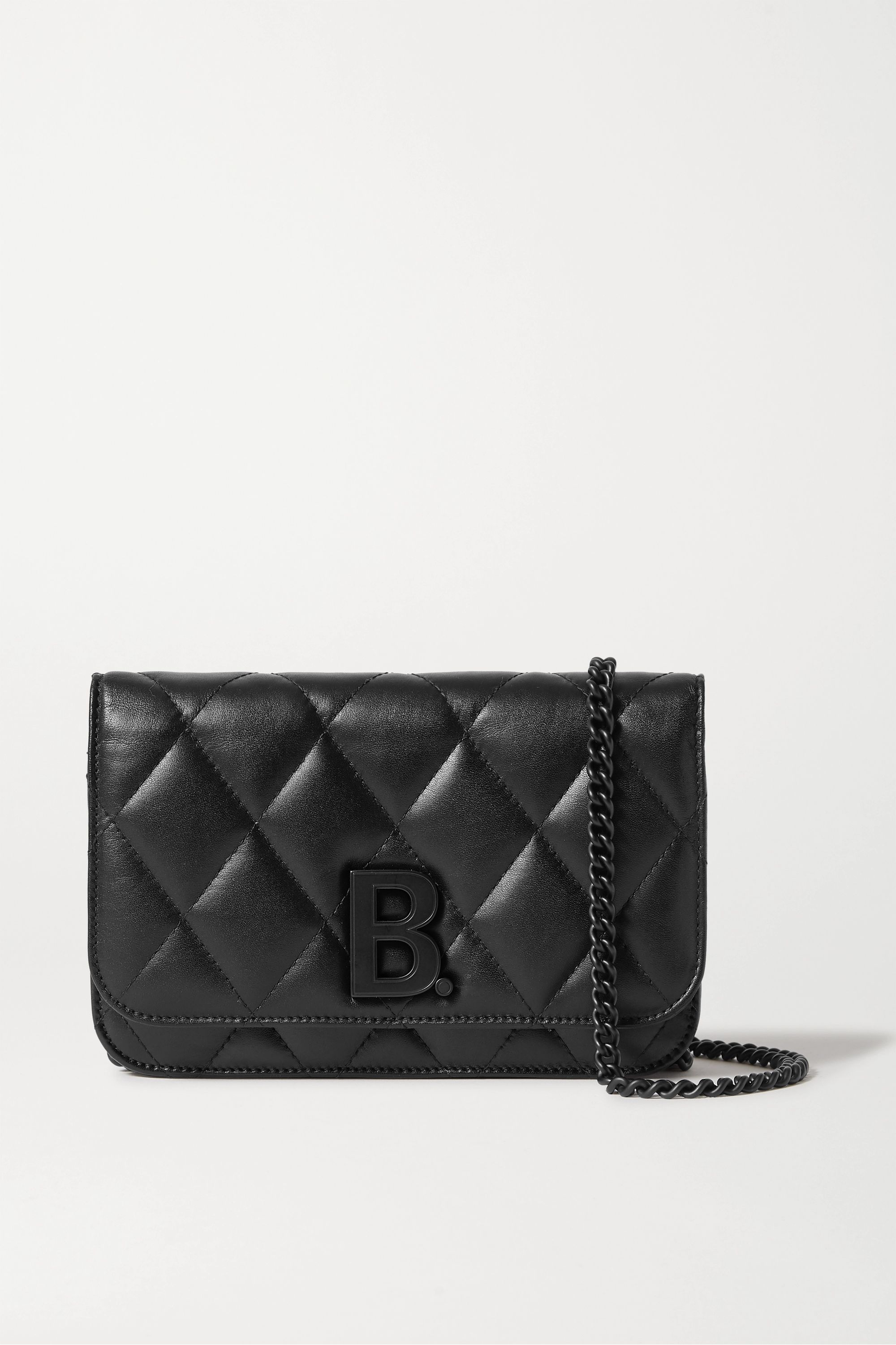 Balenciaga B Dot quilted leather shoulder bag