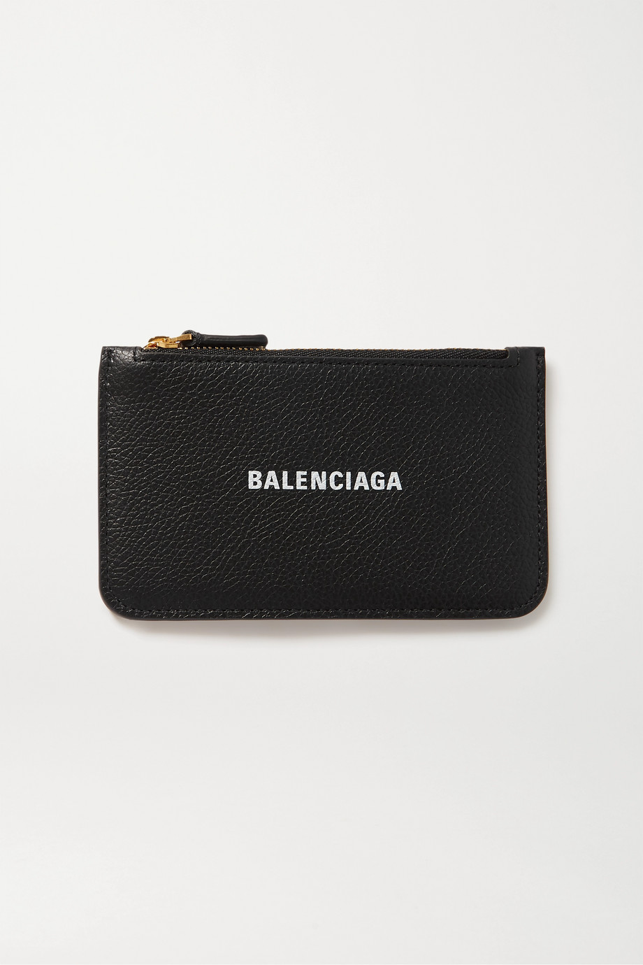 Balenciaga Cash printed textured-leather wallet