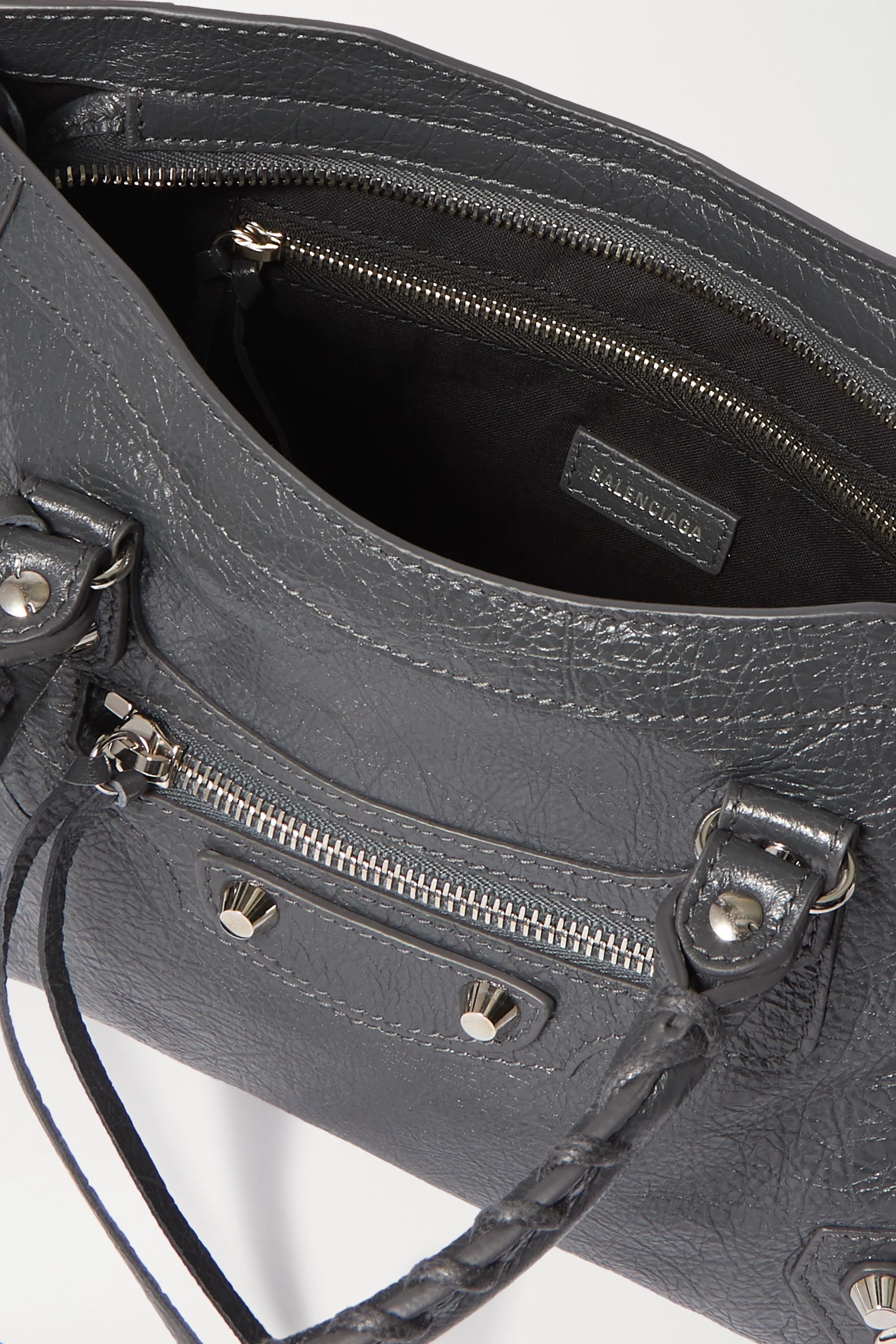 Balenciaga Classic City small textured-leather tote