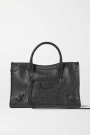 Balenciaga Classic City croc-effect leather tote bag