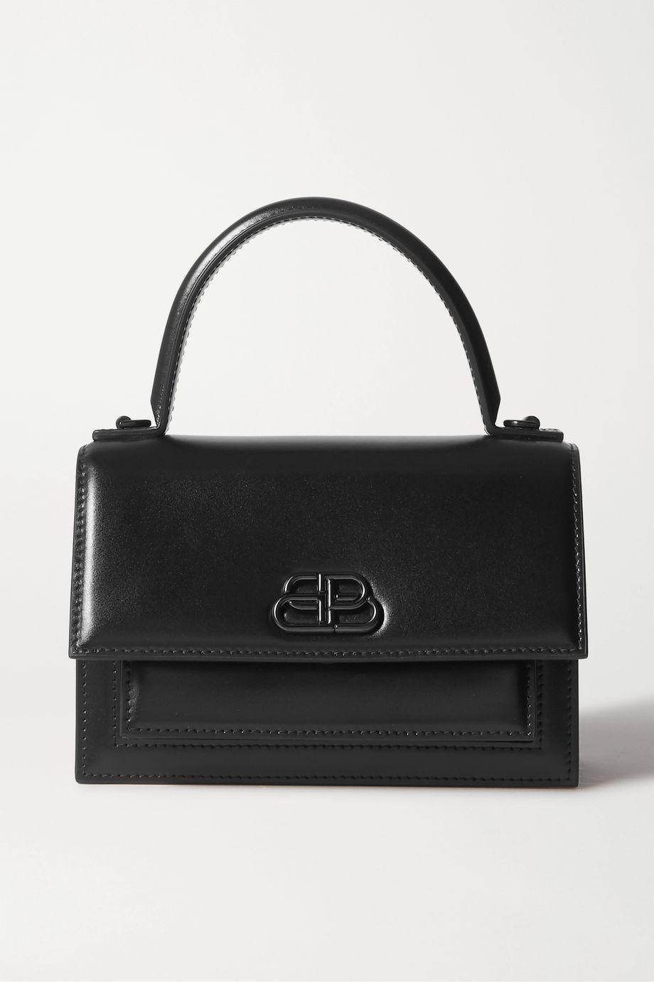 Balenciaga Sharp mini leather tote