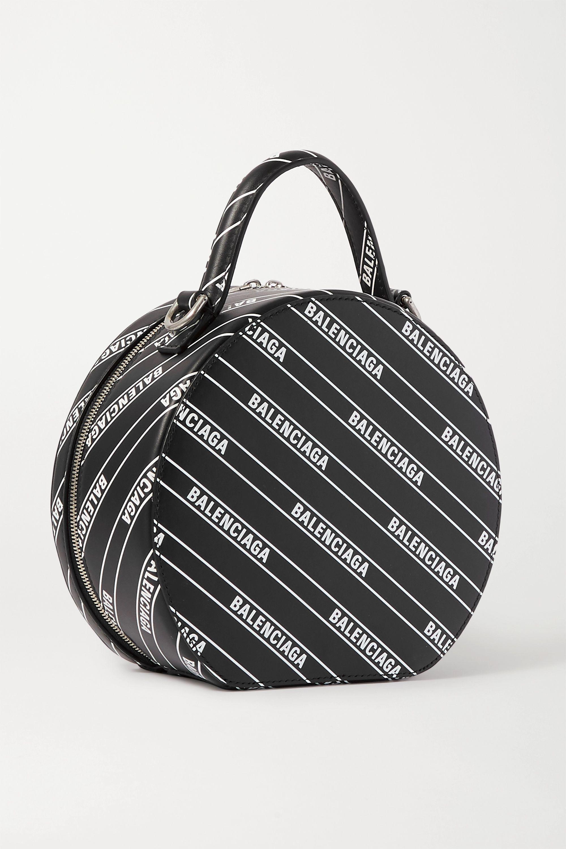 Balenciaga Vanity XS printed leather tote