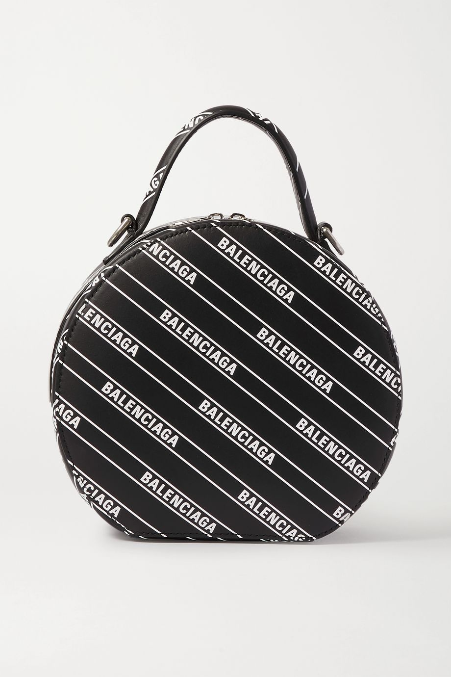Balenciaga Vanity XS printed leather tote