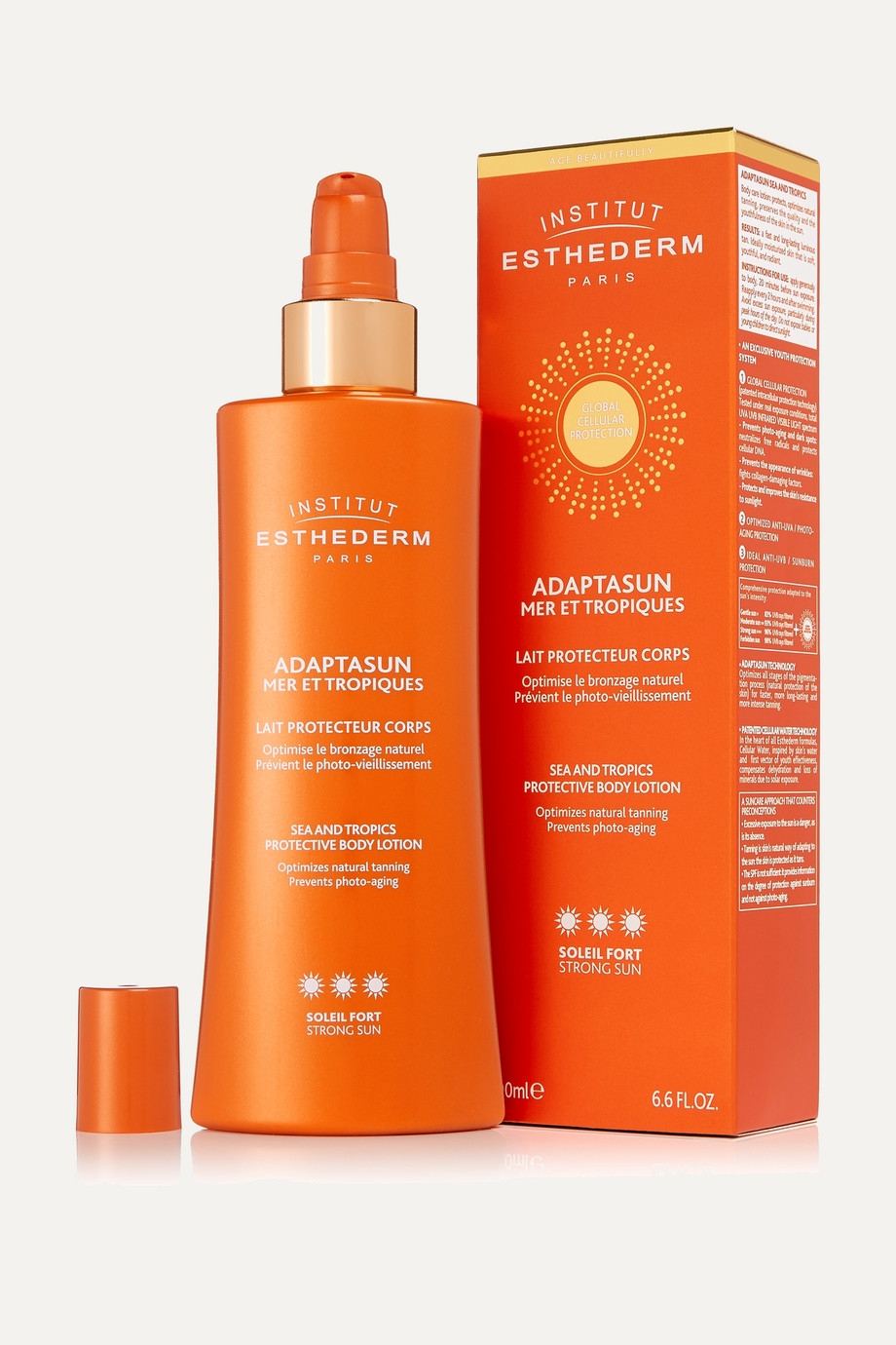 Institut Esthederm Adaptasun Body Lotion - Strong, 200ml