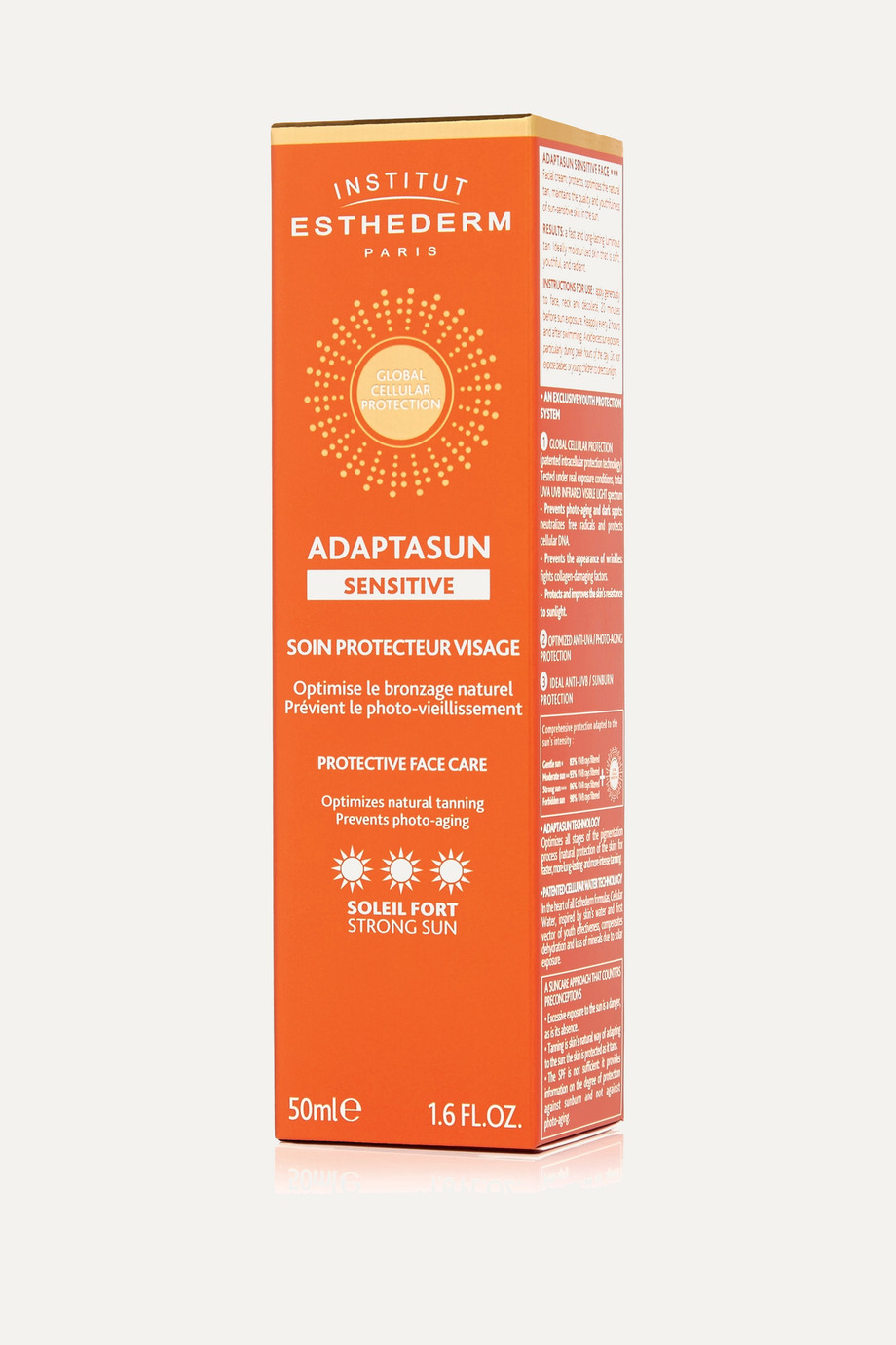 Institut Esthederm Adaptasun Protective Face Care - Strong, 50ml