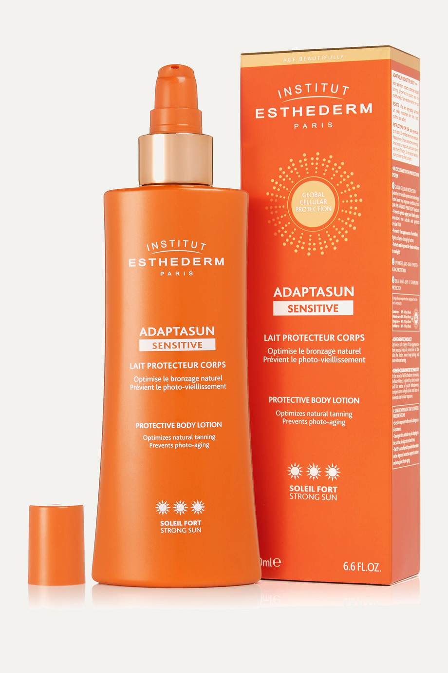 Institut Esthederm Adaptasun Sensitive Protective Body Lotion – Strong, 200 ml – Körpercreme