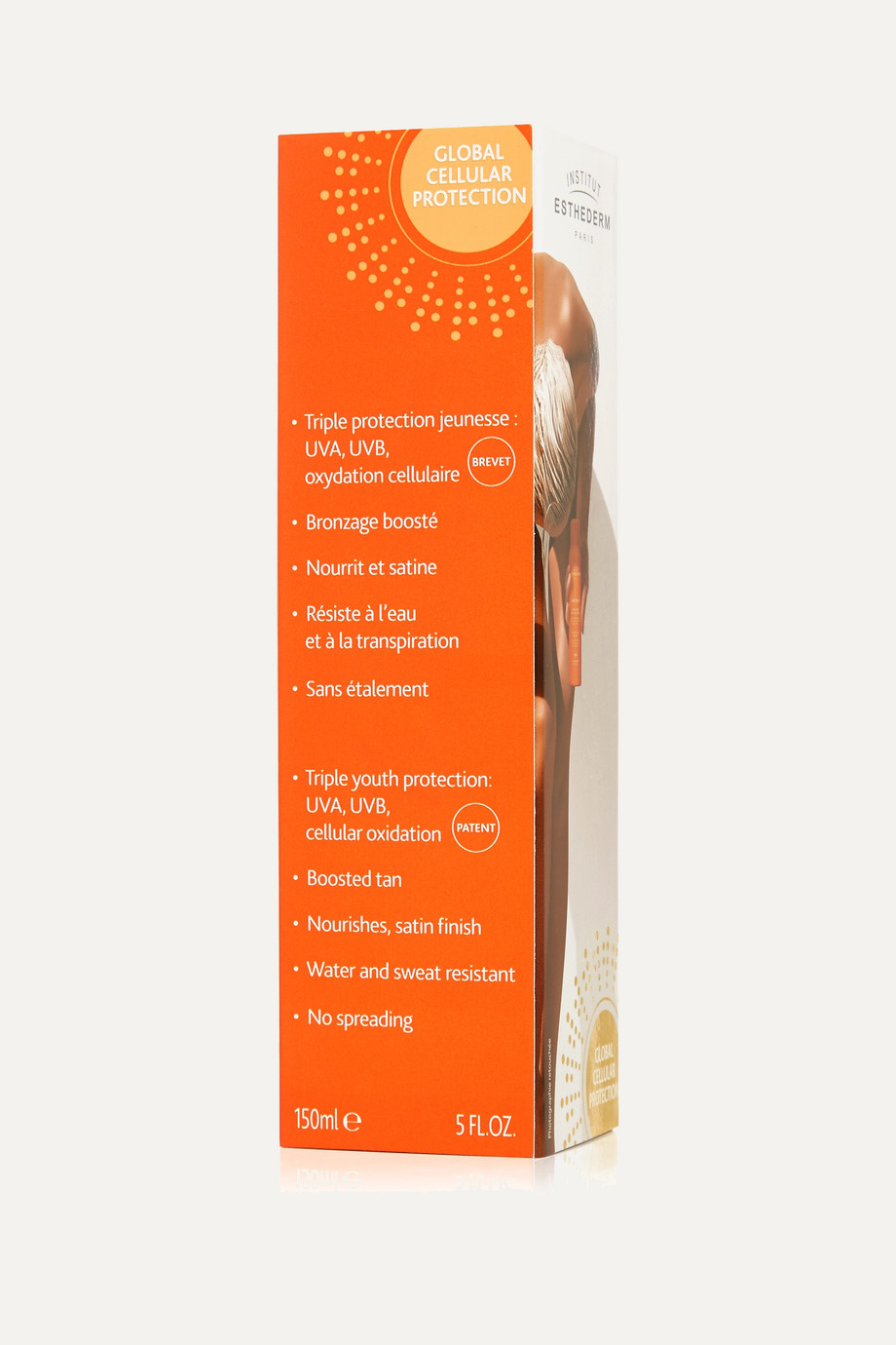 Institut Esthederm Adptasun Protective Silky Tanning Body Mist - Moderate, 150ml