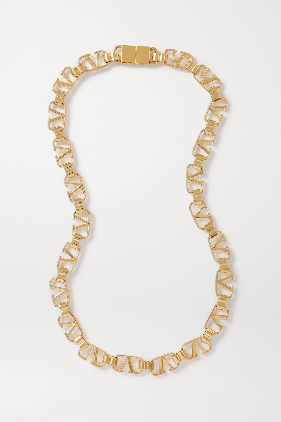 Valentino Gold-tone necklace