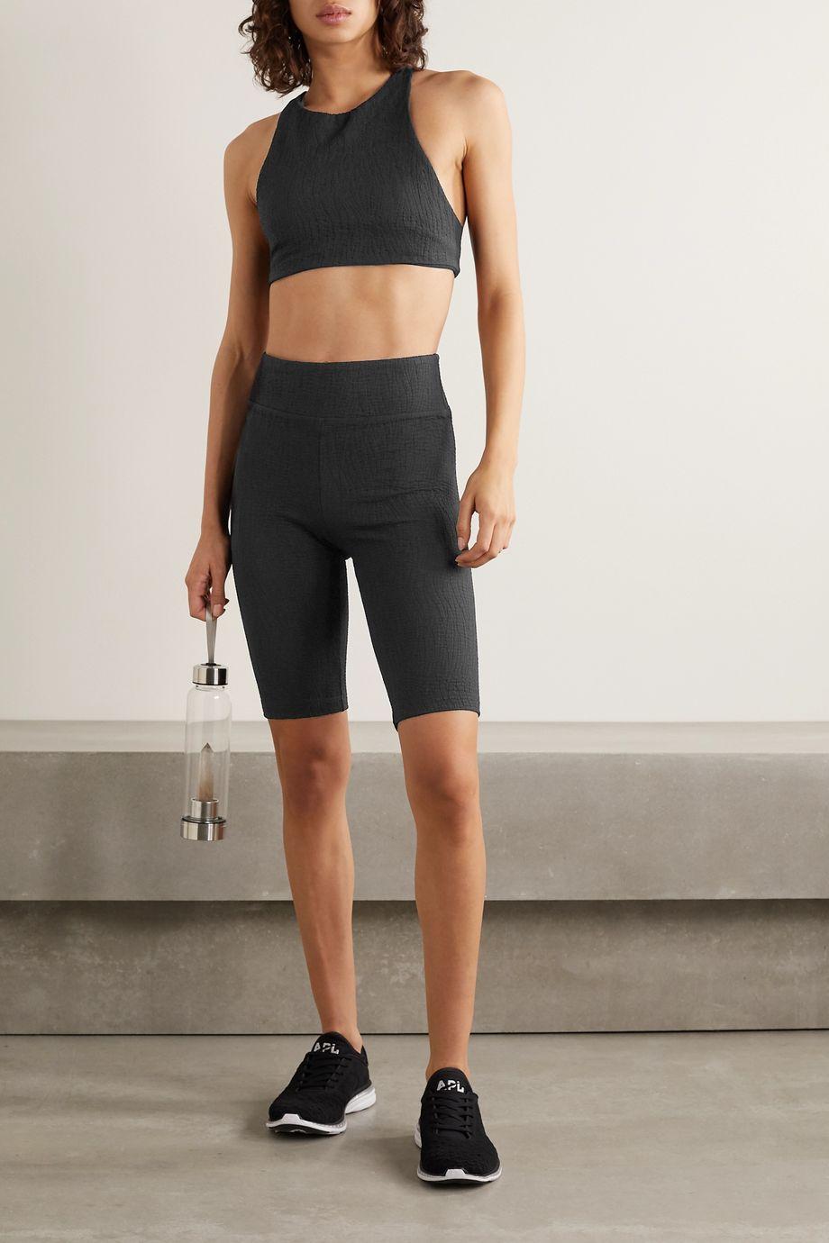 Koral Densonic Flora stretch-jacquard shorts
