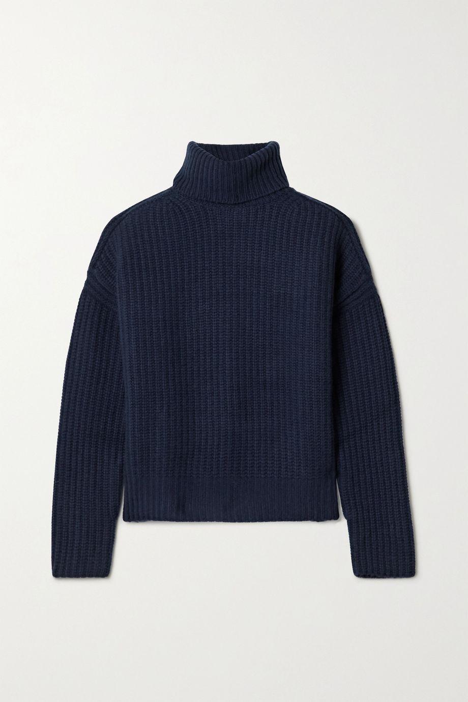 La Ligne 罗纹羊绒高领毛衣