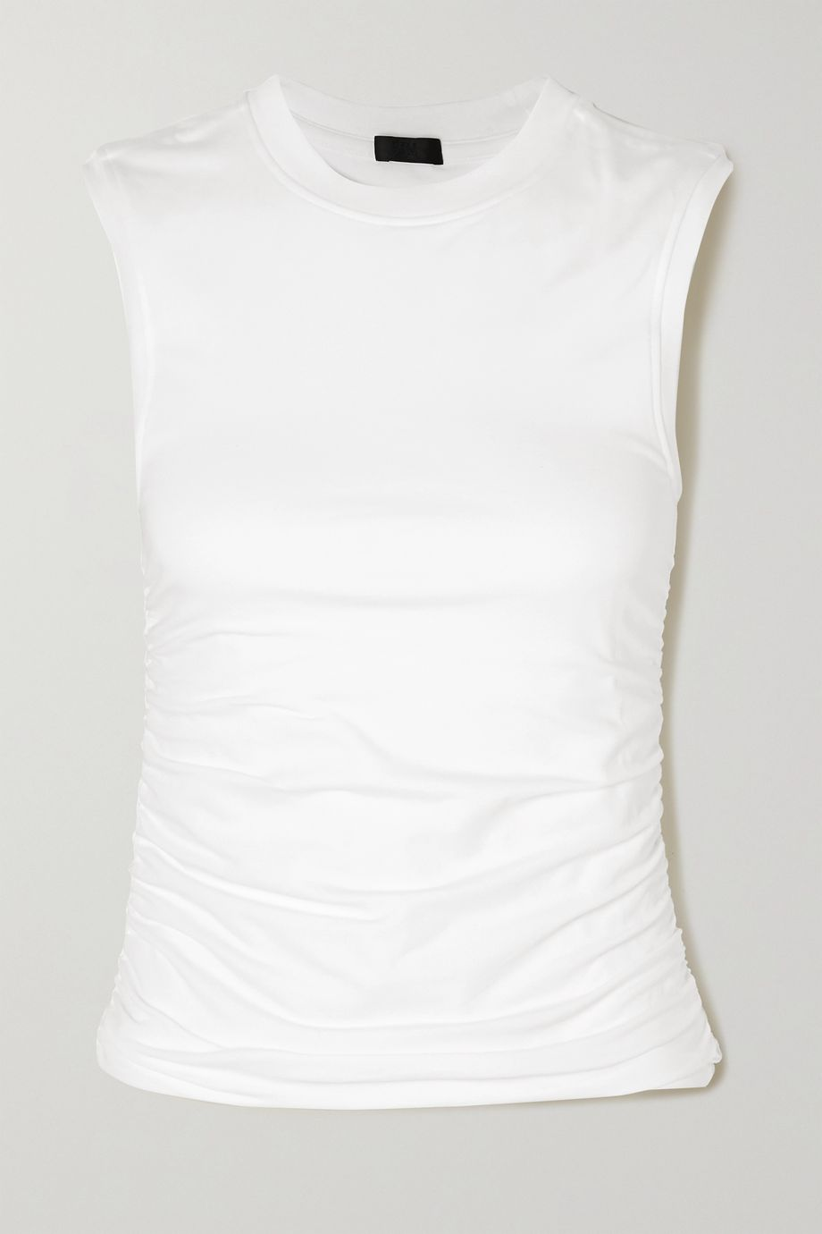 ATM Anthony Thomas Melillo Ruched stretch-Pima cotton jersey tank