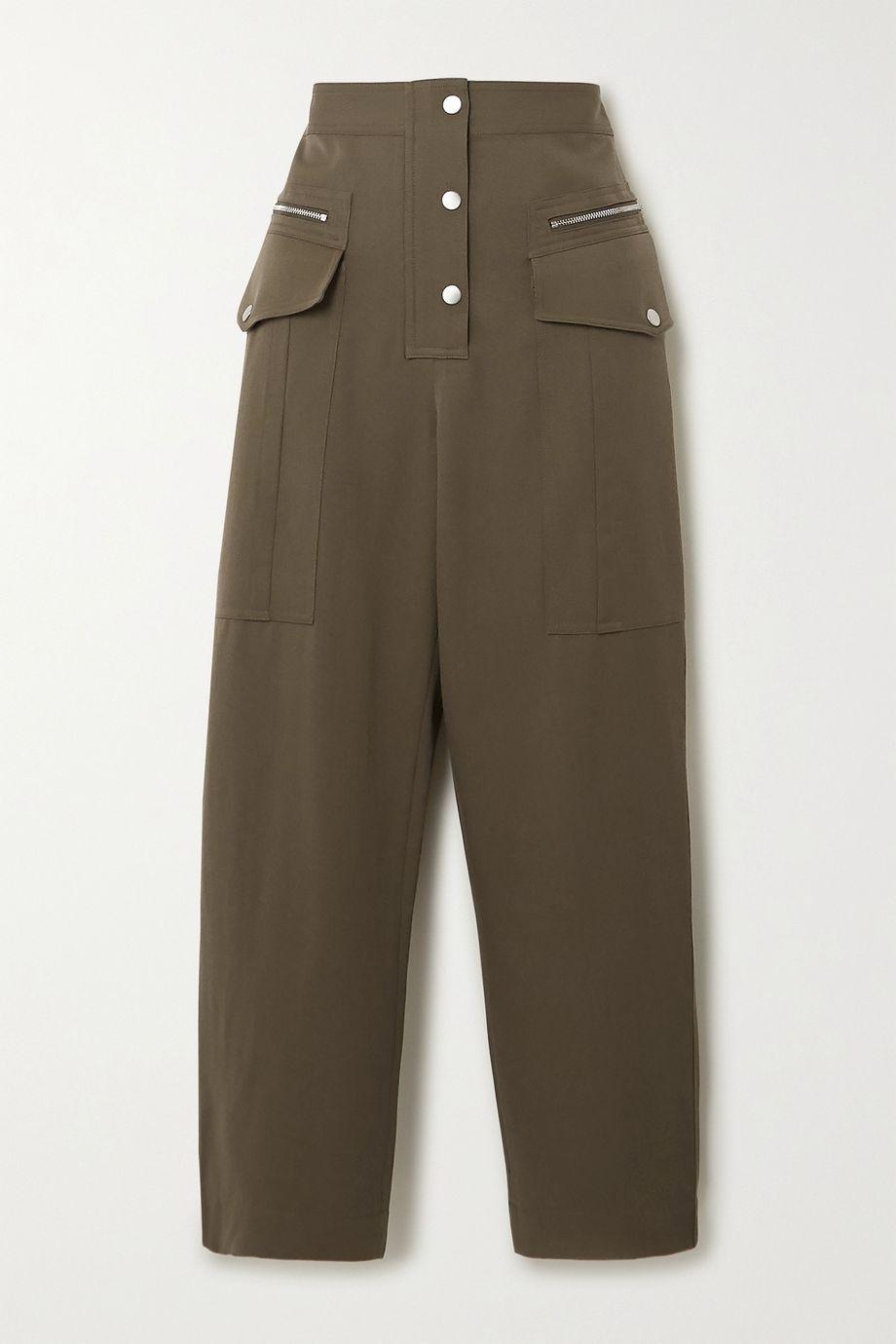 3.1 Phillip Lim Wool-twill straight-leg pants