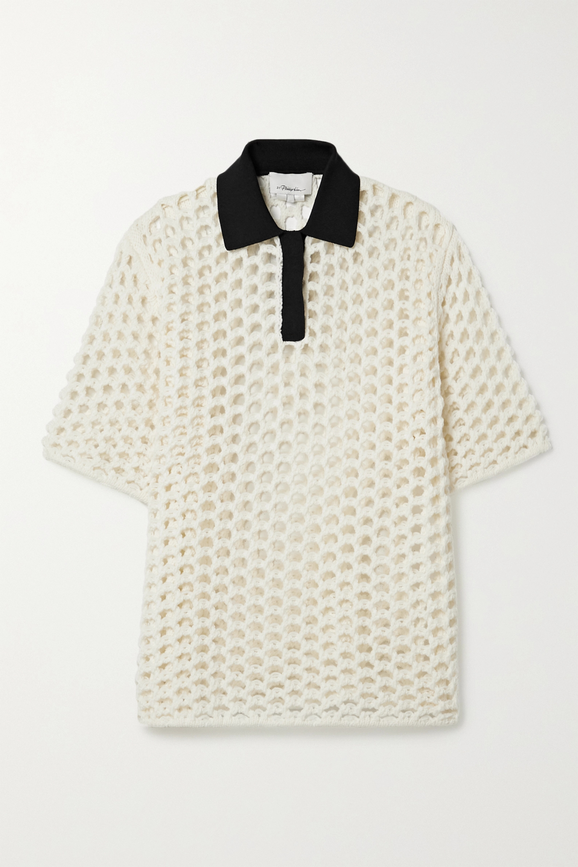 3.1 Phillip Lim 平纹布边饰绳结编织羊毛上衣