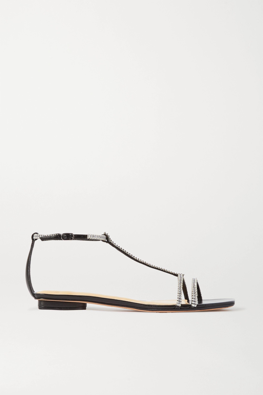 Alexandre Birman Lacy crystal-embellished leather sandals