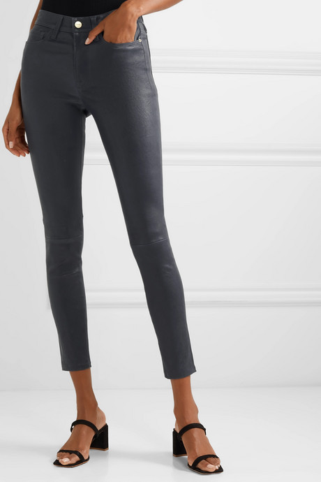 Le High stretch-leather skinny pants
