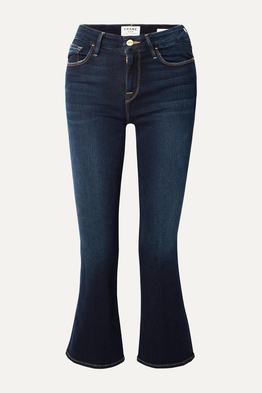 FRAME Le Crop Mini Boot high-rise jeans