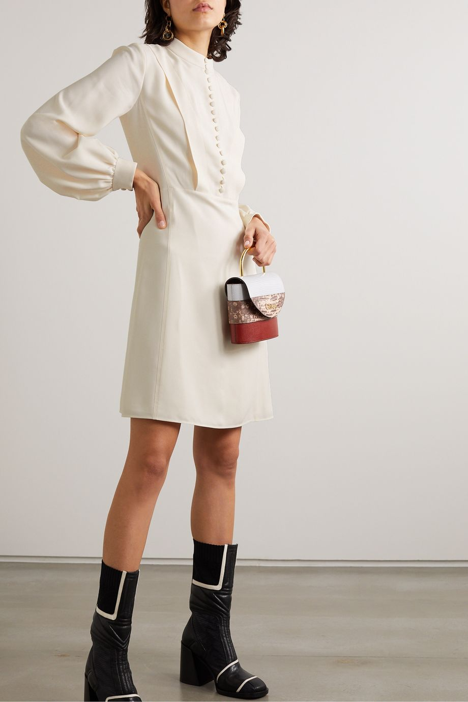 Chloé Mini-robe en cady