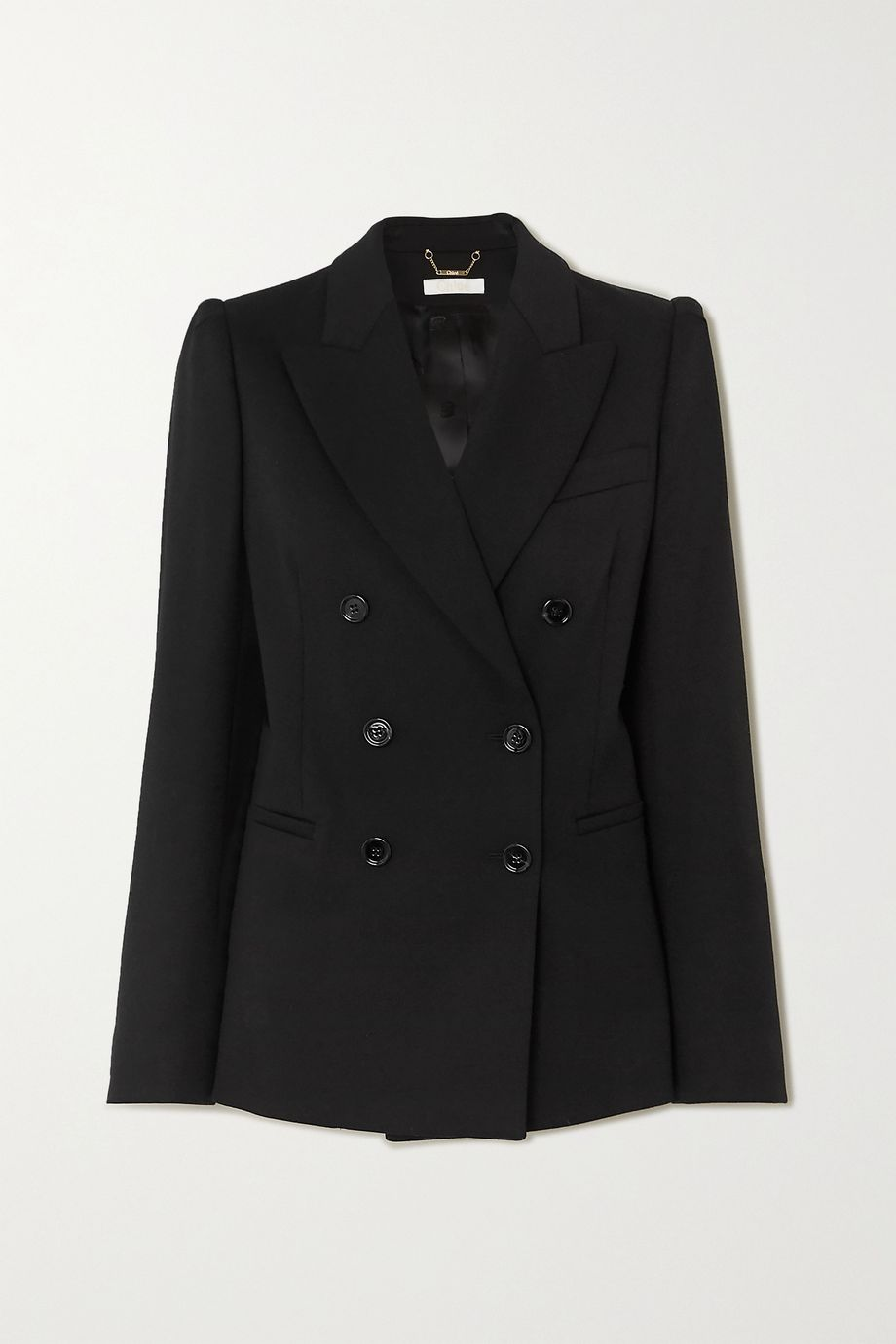 Chloé Double-breasted wool-blend blazer