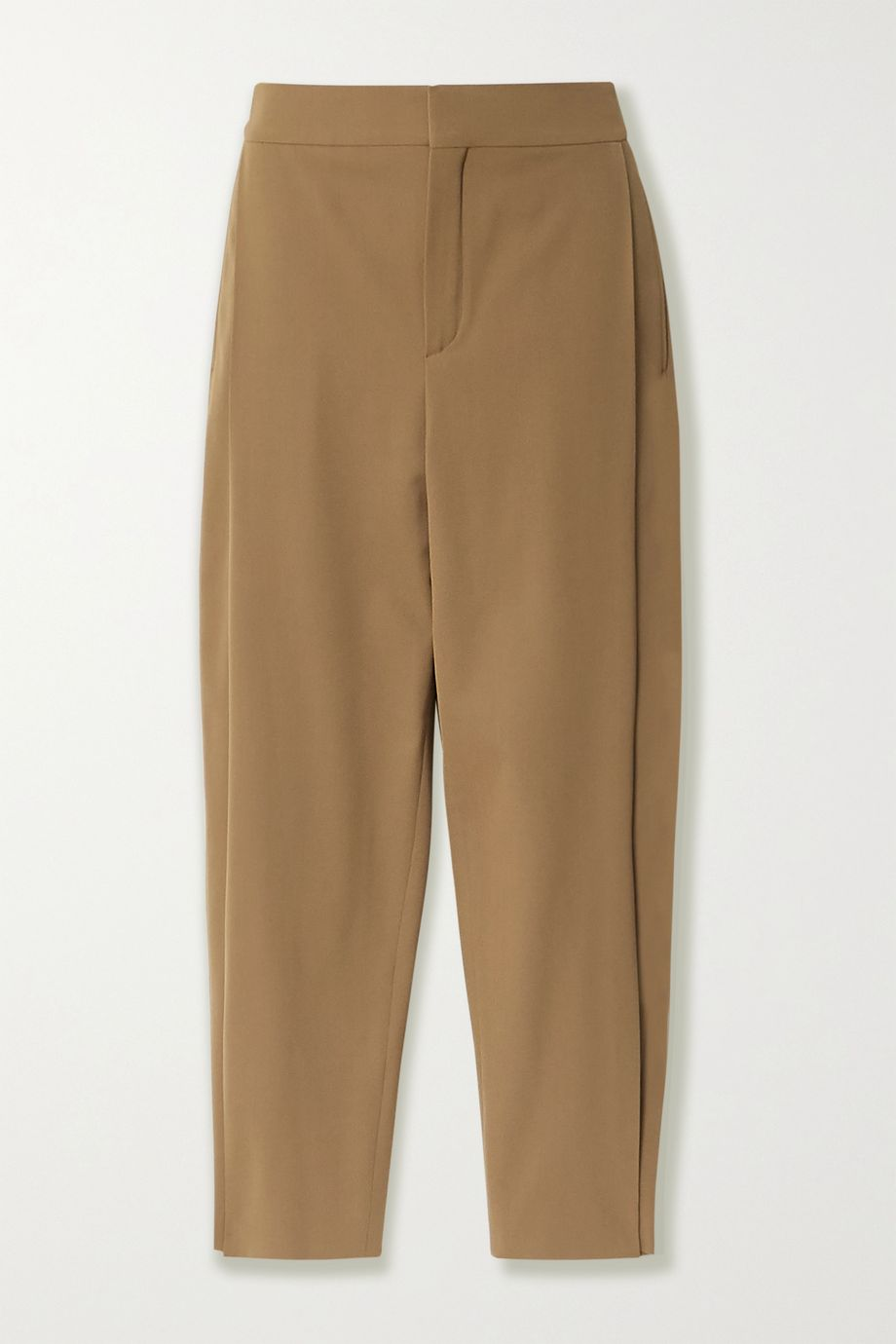 Chloé Cropped stretch-twill tapered pants