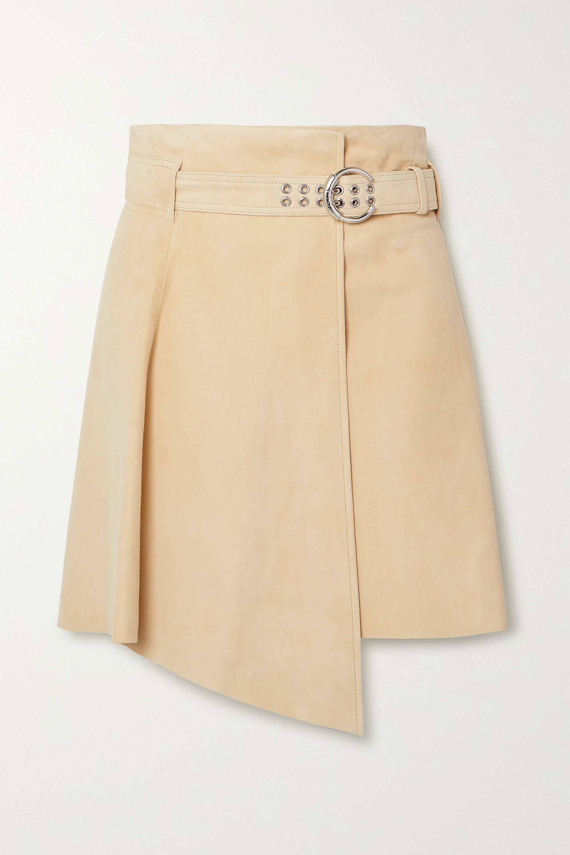 Chloé Mini-jupe asymétrique en daim