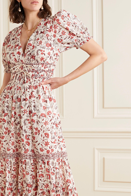 Ulla Johnson Zaria floral-print cotton midi dress