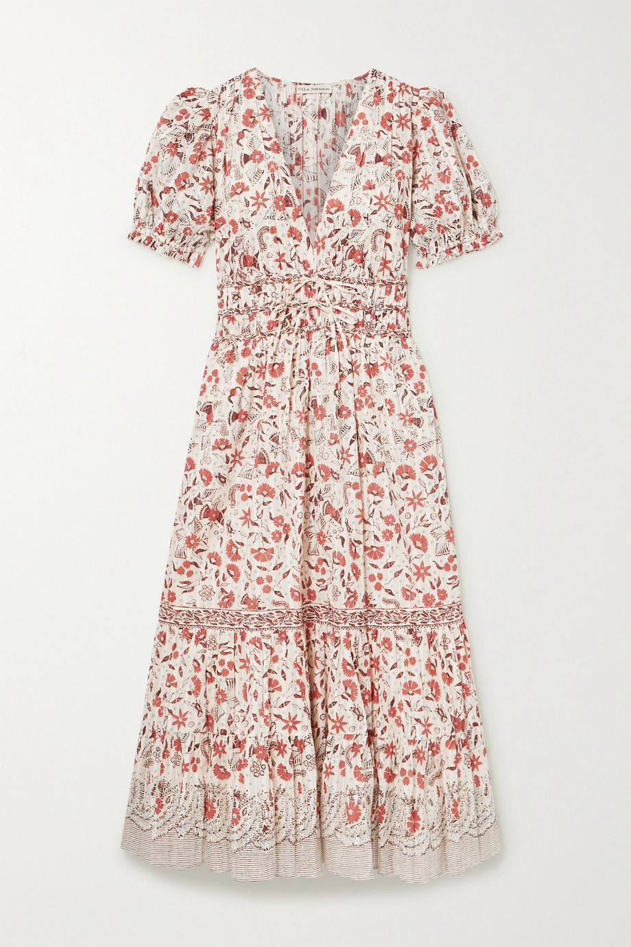 Ulla Johnson Zaria floral-print cotton midi dress