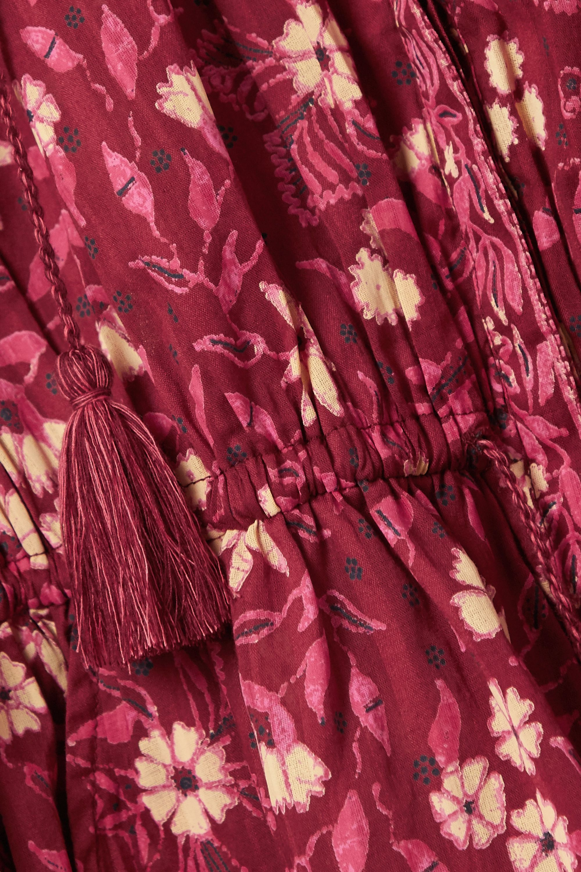 Ulla Johnson Delphine floral-print cotton-voile jumpsuit