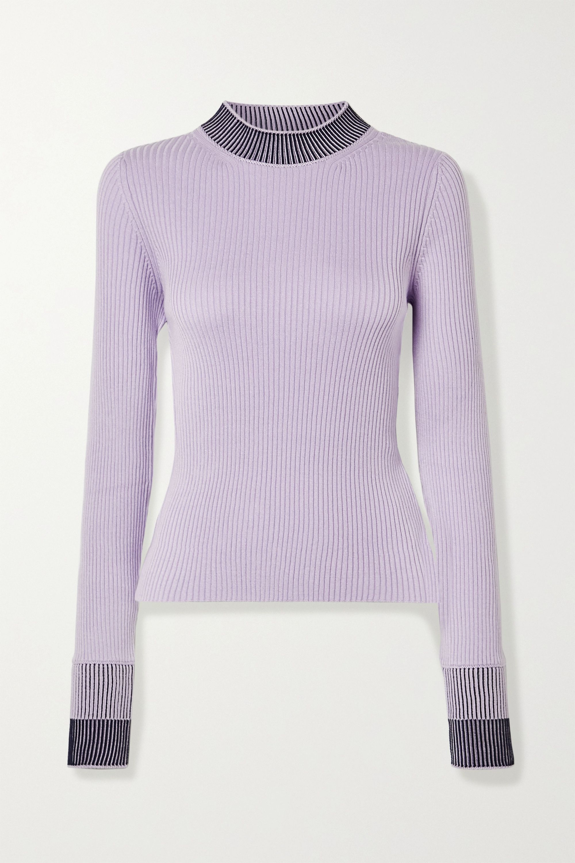 Maison Margiela Ribbed cotton-blend sweater
