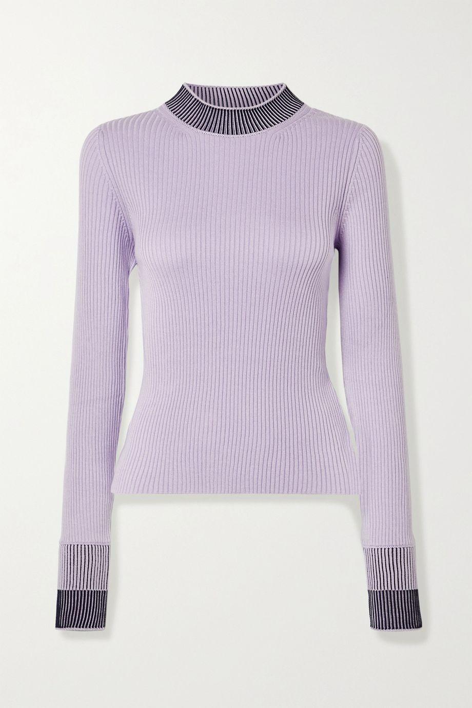 Maison Margiela 罗纹棉质混纺毛衣