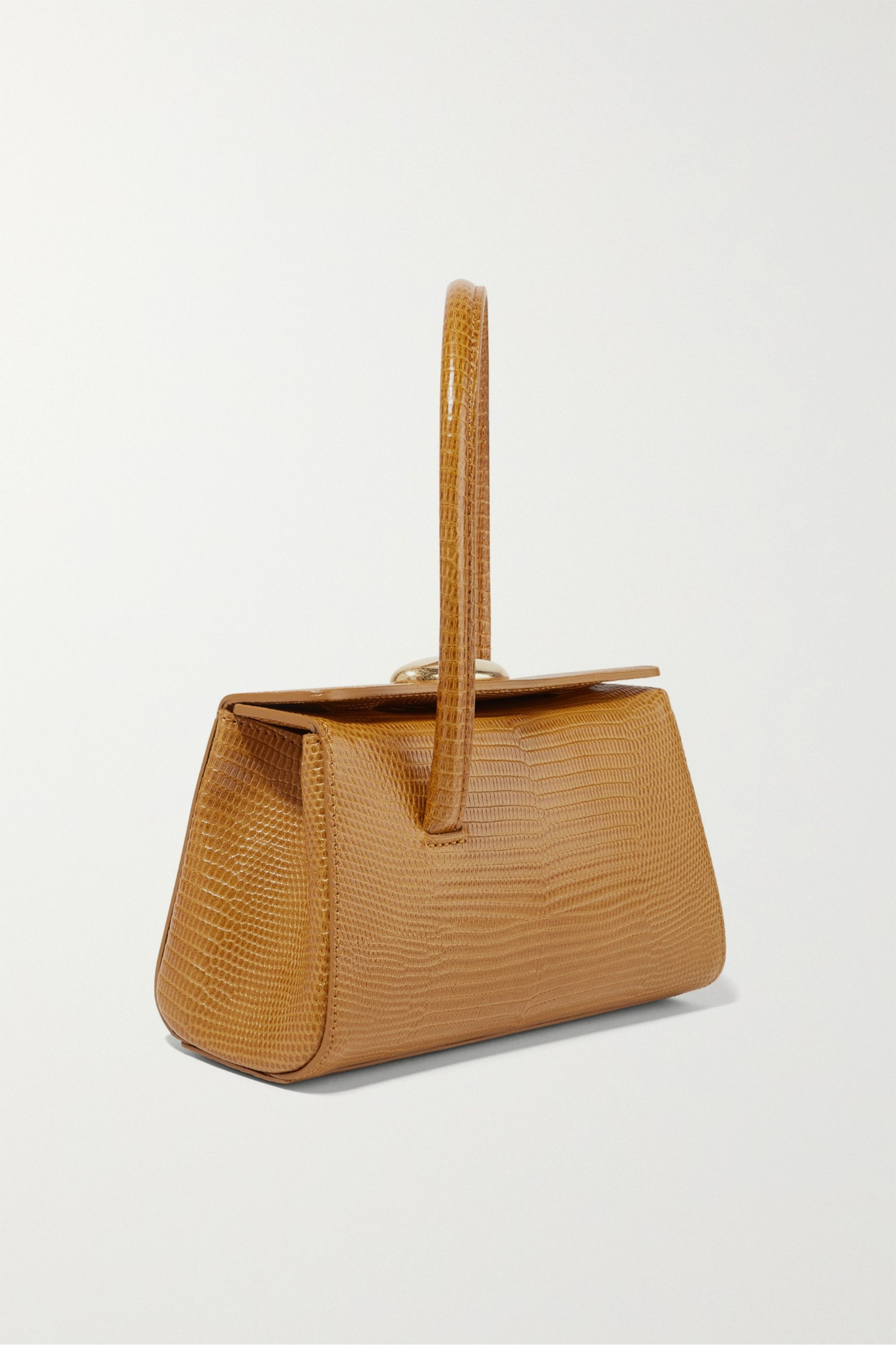 Little Liffner Baby Boss lizard-effect leather tote