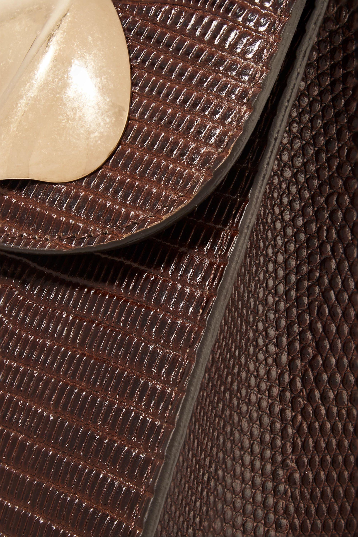 Little Liffner Lizard-effect leather shoulder bag