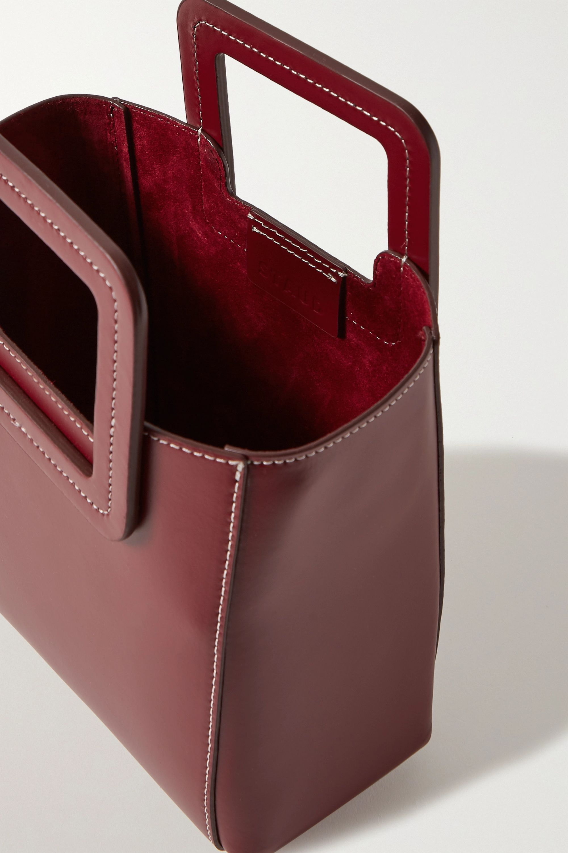 STAUD Shirley mini leather tote