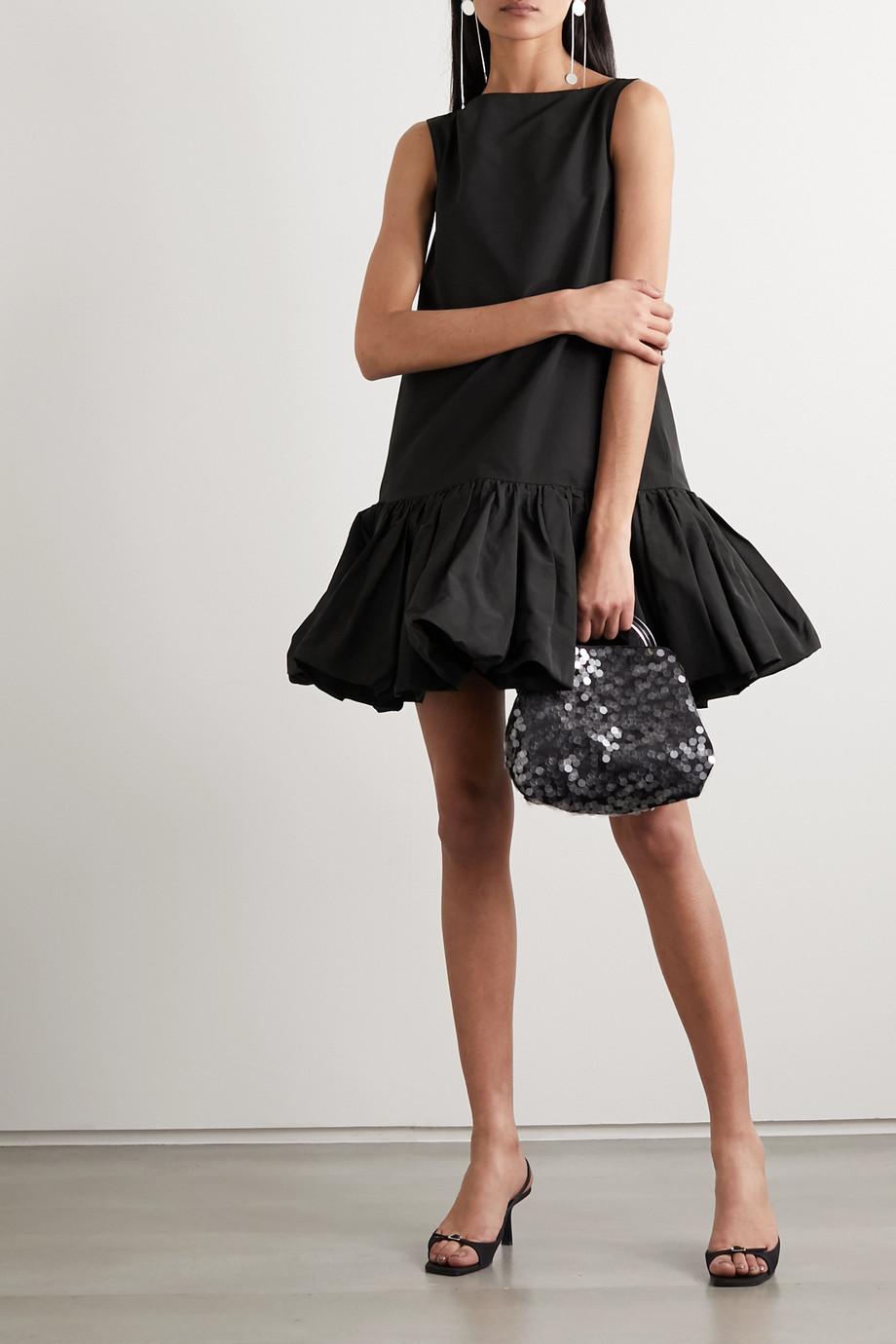 Valentino Cotton-blend faille mini dress