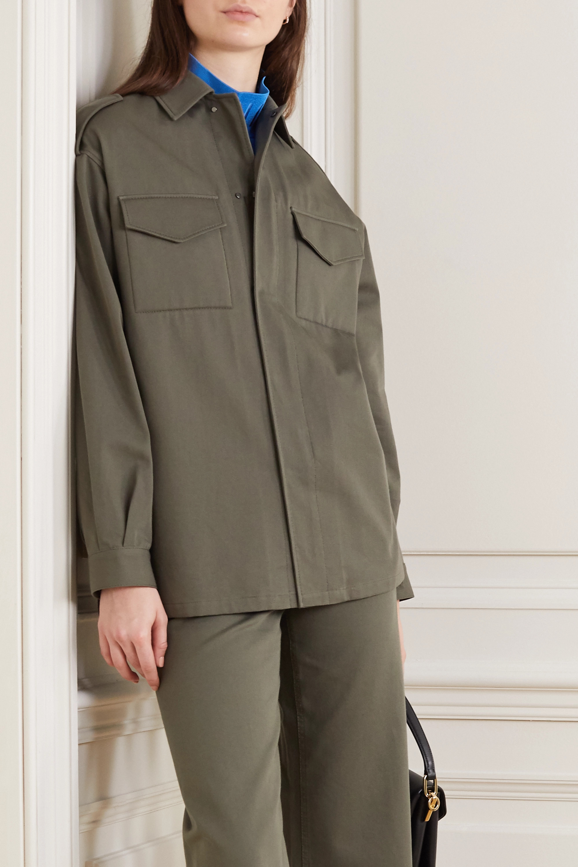 Valentino Cotton-twill jacket