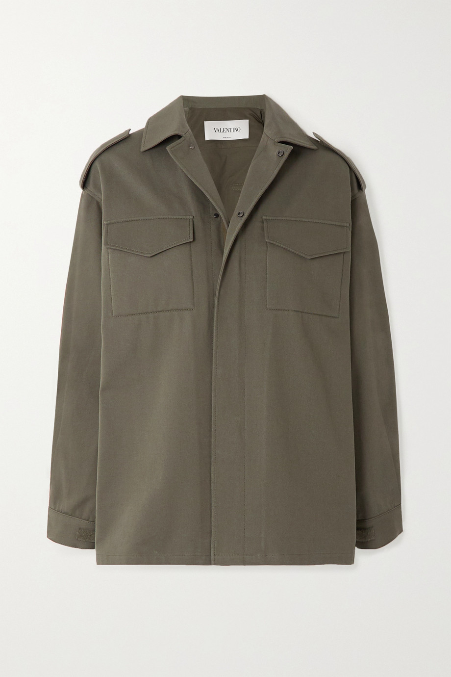 Valentino Cotton-twill jacket