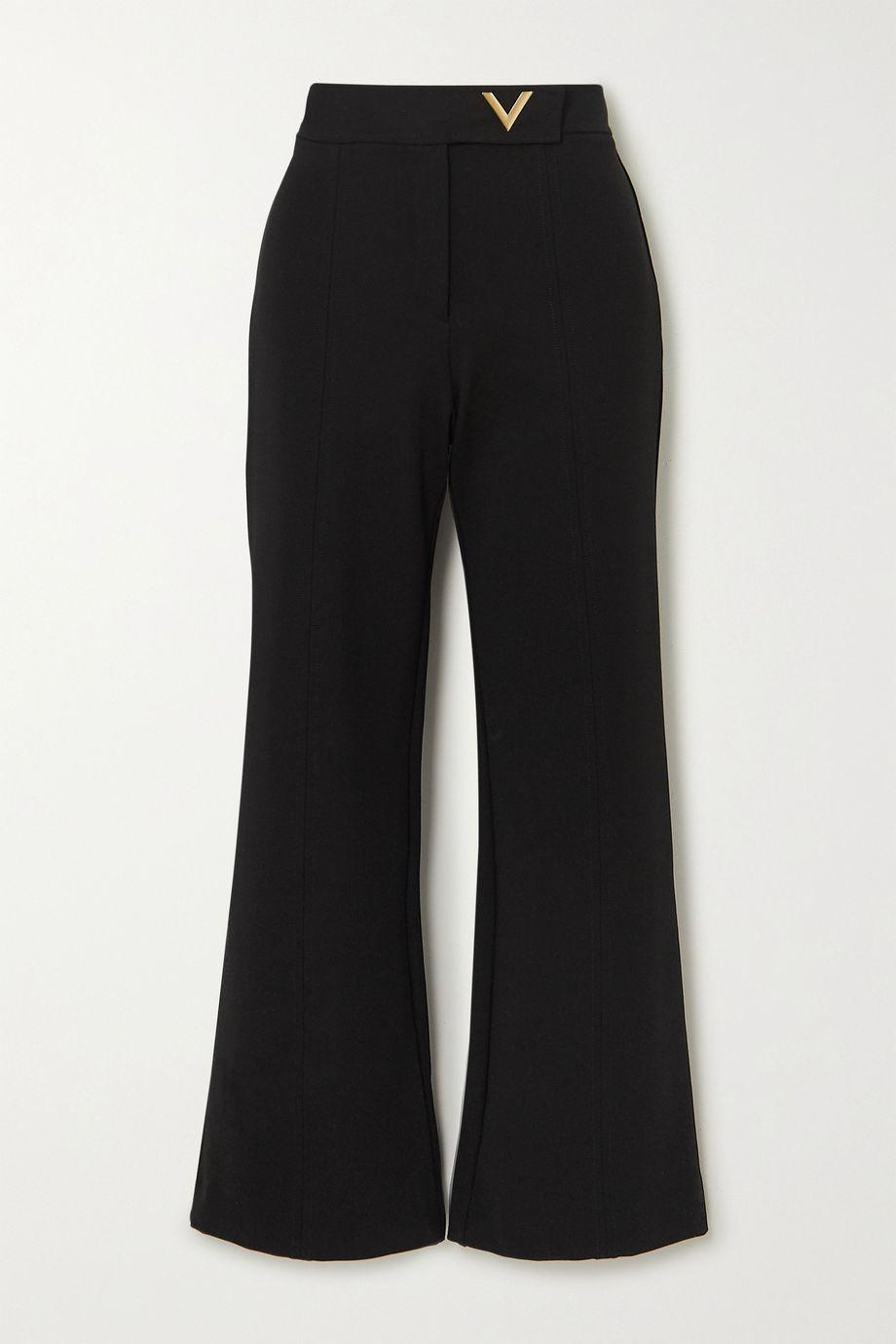 Valentino Ponte straight-leg pants