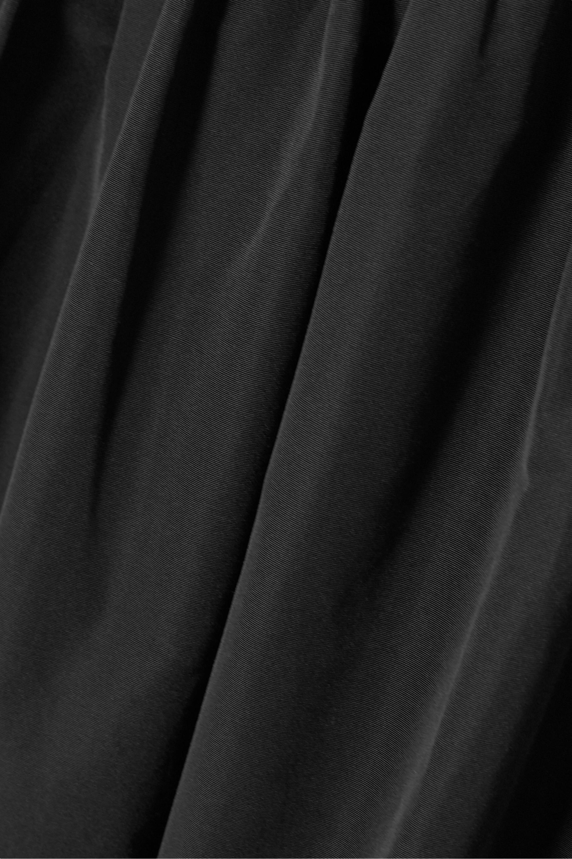 Valentino Gestufter Midirock aus Popeline aus einer Baumwollmischung