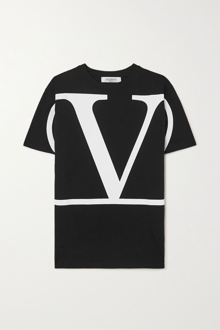 Valentino Oversized printed cotton-jersey T-shirt